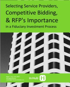 Whitepaper - Evaluating and Selecting a Plan Advisor - 401k