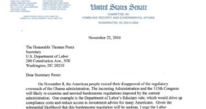 repeal of DOL fiduciary rule