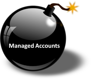managed 401k accounts