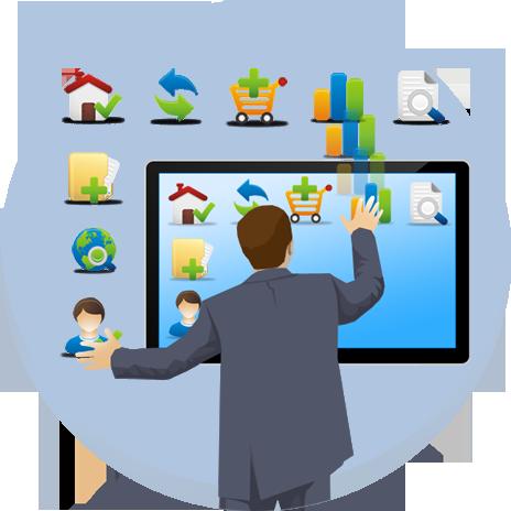 interactive web portals